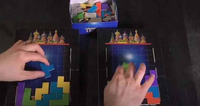 俄罗斯方块也出桌游了,还是一款多人策略游戏
