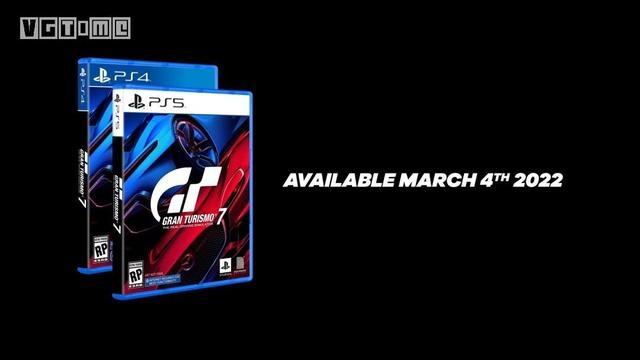 《GT赛车7》将于2022年3月4日登陆PlayStation平台