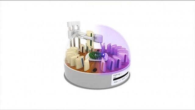 研究人员创造了一种利用激光烹饪3D打印食物的方法